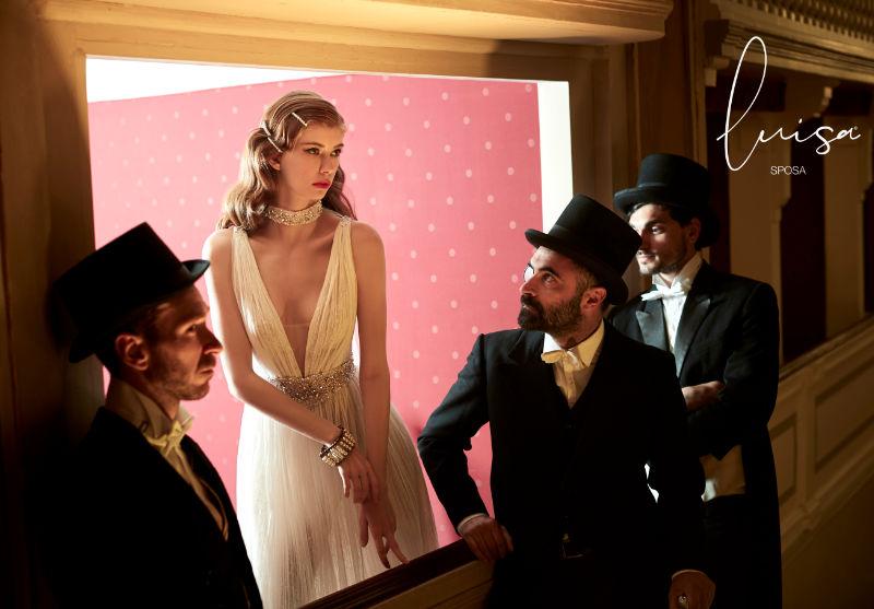 luisa sposa da ammirare alla rome bridal week