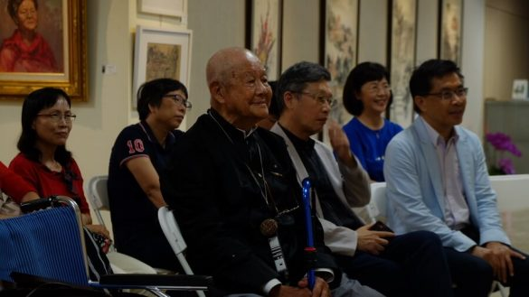 95 Retro, Grateful, Couple, Solo Exposition of Jian-I SHEN
