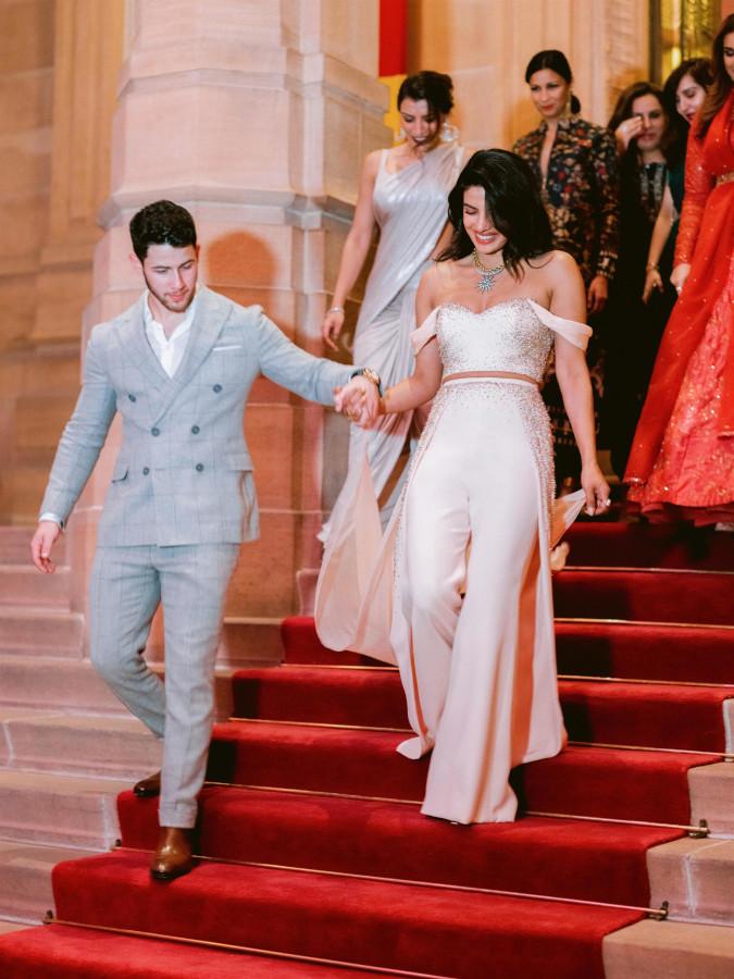 priyanka chopra wears custom ralph & russo couture