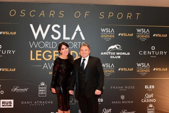 MONACO WORLD SPORTS LEGENDS AWARD 2018