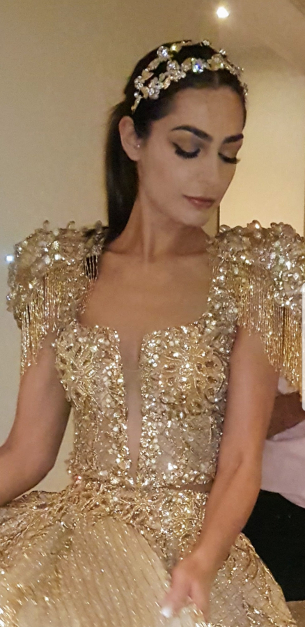 Lamia Latrous has been named the most famous designer of haute couture in Tunisia
