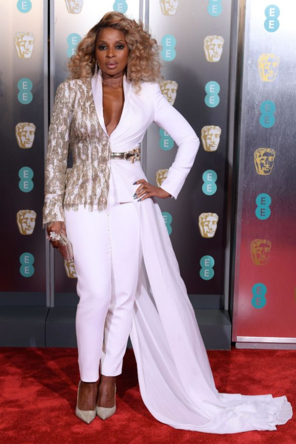 MARY J. BLIGE AND ELEANOR TOMLINSON WEAR RALPH & RUSSO COUTURE