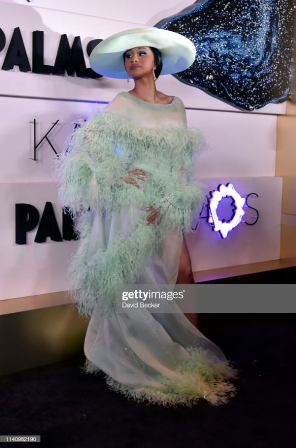 CARDI B AND MARSAI MARTIN SPOTTED WEARING RALPH & RUSSO