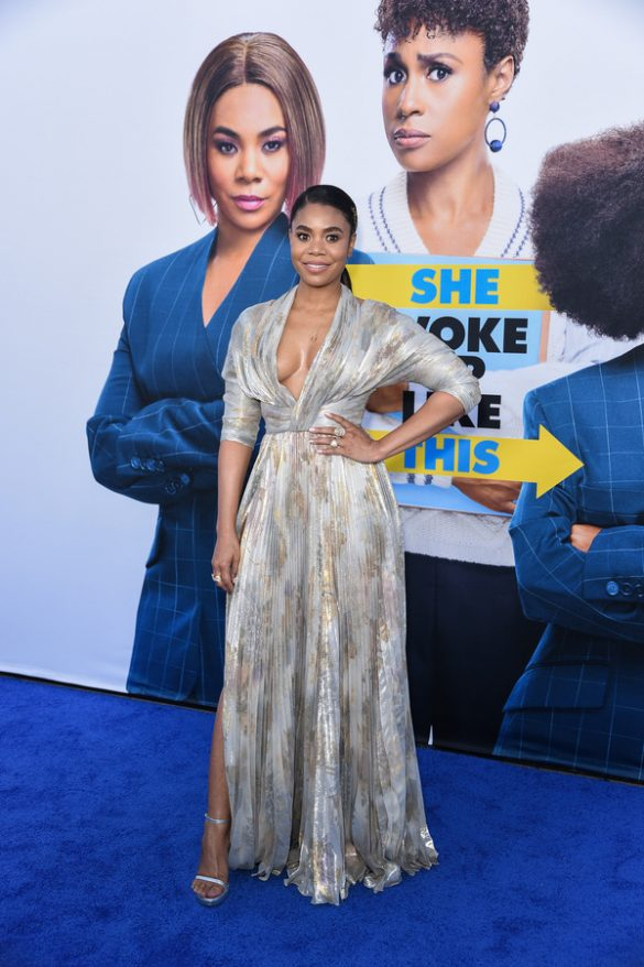 REGINA HALL SPOTTED WEARING RALPH & RUSSO