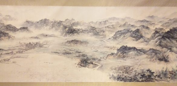 Formosa Evergreen Scroll