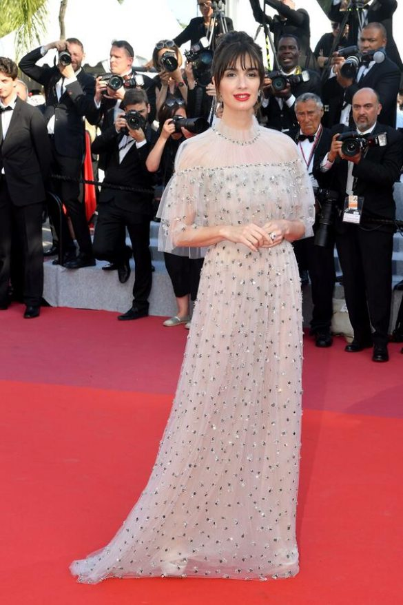PAZ VEGA WEARS RALPH & RUSSO COUTURE
