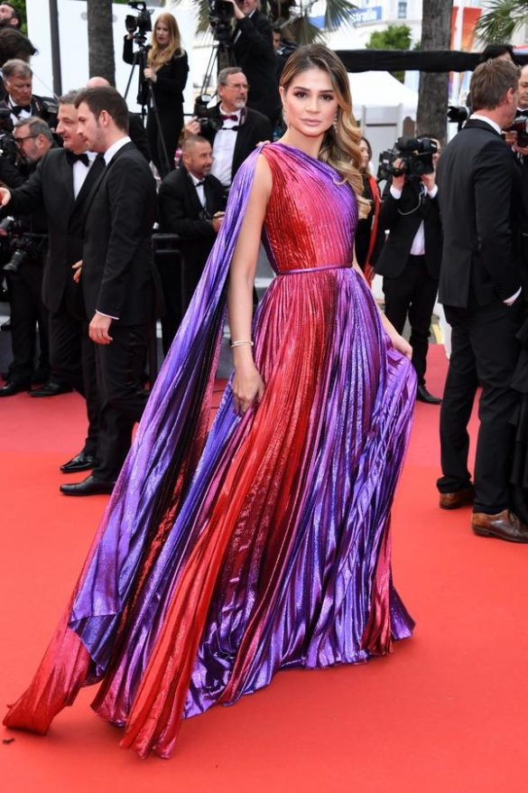 NADINE LABAKI AND THASSIA NAVES WEAR RALPH & RUSSO TO THE 2019 CANNES FILM FESTIVA