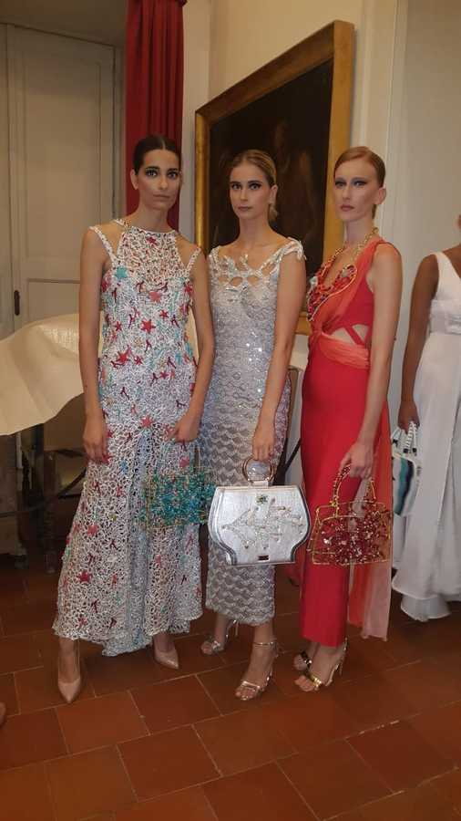 Premiata al Museo Correale l'haute couture della stilista Eleonora Altamore