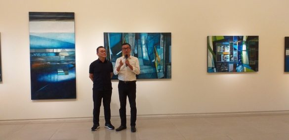 《Entering & free exploration》Lin hsi chun's solo exhibition