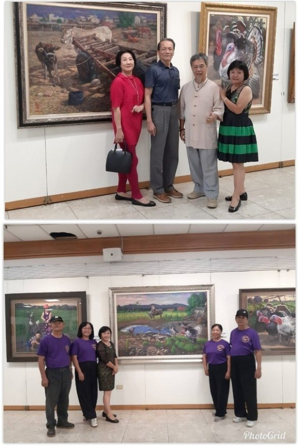 《Colorful Land》 by Chen Chun-yang's Oil Painting Solo Exhibition