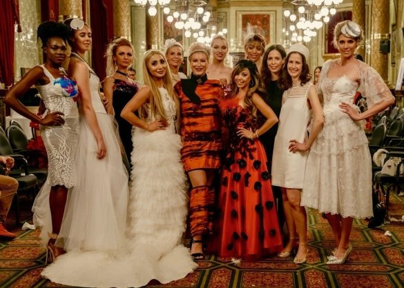 Flame International Fashion and Art Festival At The Royal Horseguards Hotel London