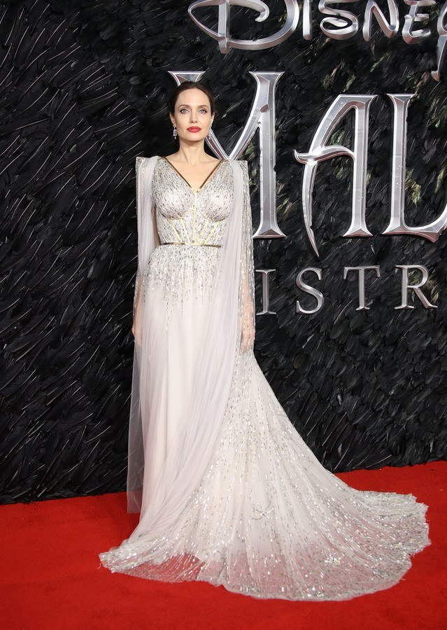 Angelina Jolie Wears Custom Ralph Russo Fashion Luxury