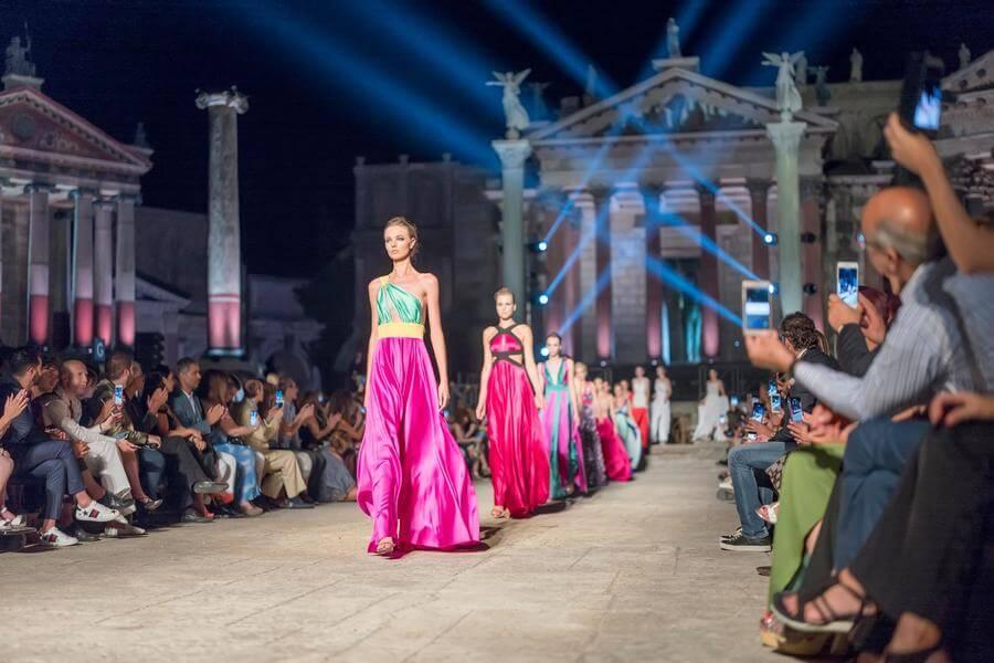 Fourth Edition Of The International Couture Fashion Show Fashion Luxury Alta Moda E Lusso